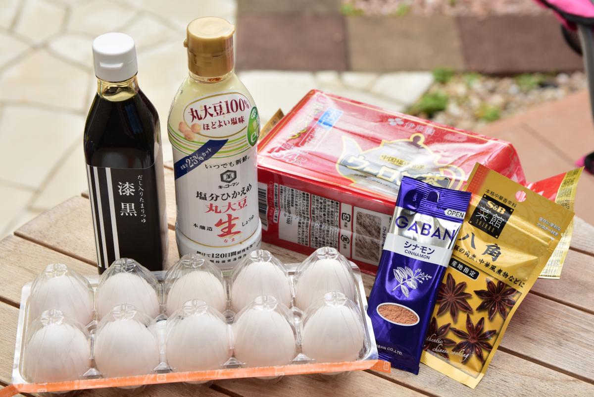 日本でも手に入る材料で簡単にできる「茶卵(茶葉蛋)」