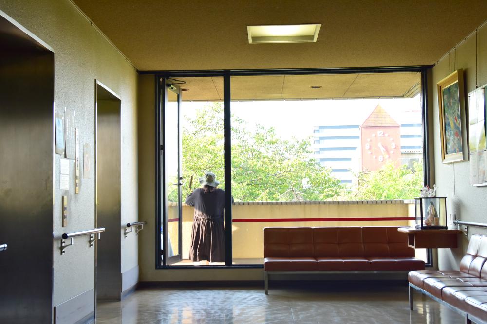 手話教室の会場になっている「大垣市総合福祉会館」