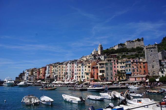 イタリアで遊覧船に乗ってみよう