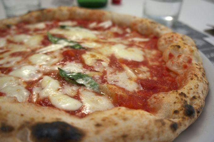 カゼルタに行ったらピッツァを食べるべし