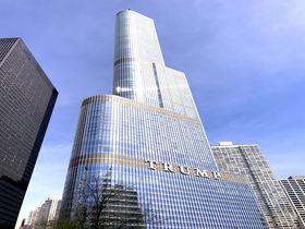 シカゴの摩天楼、トランプ・タワーでゴージャスステイ