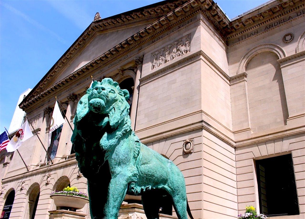 かつては美術大学だった、シカゴ美術館