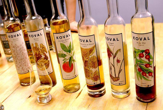 KOVALならではの蒸溜酒ワールド