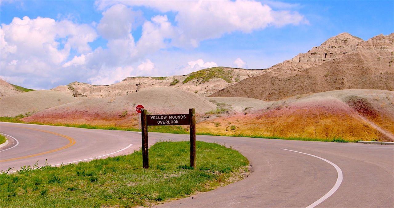 美しい「悪い土地」バッドランズ国立公園