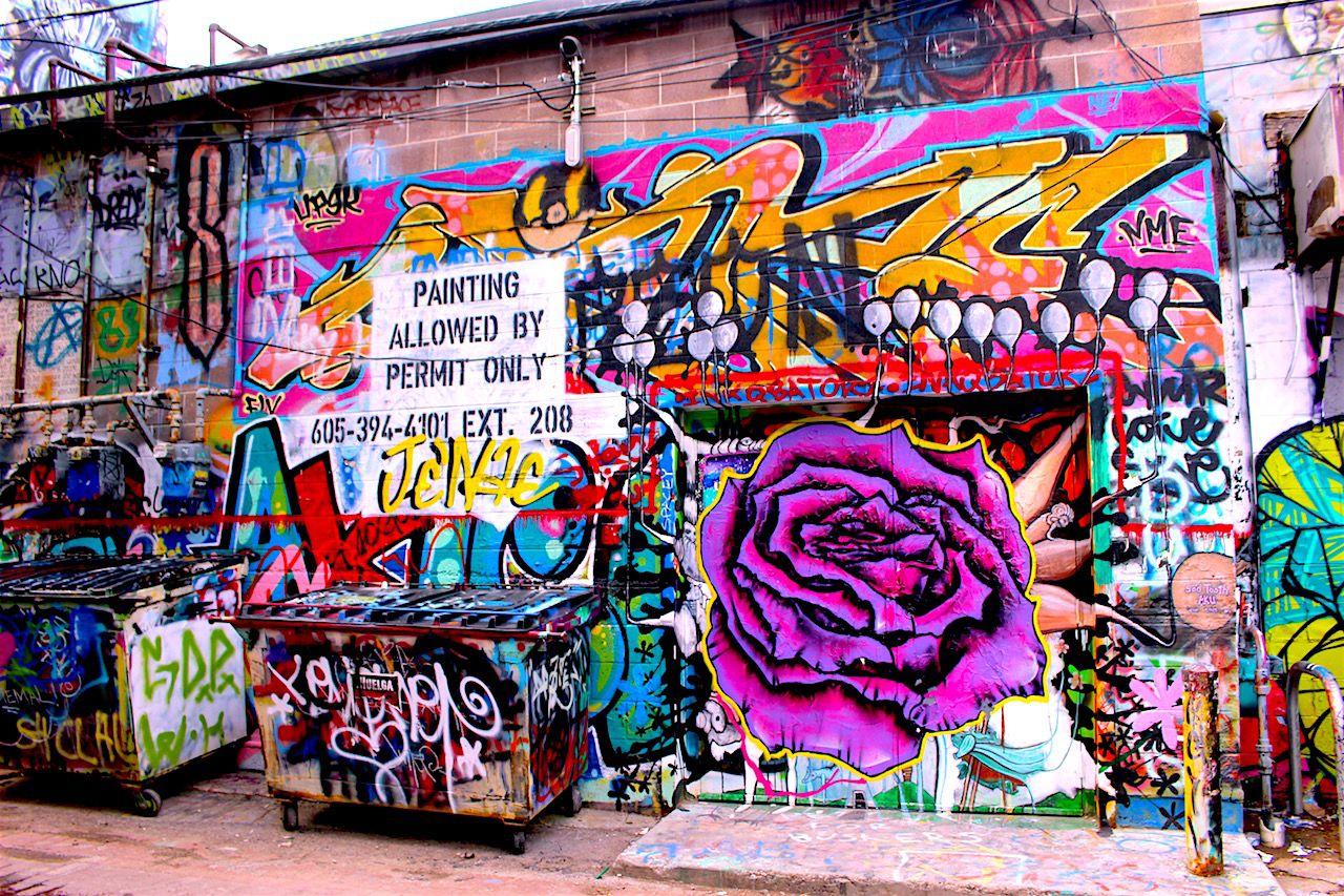 アート溢れる大統領の街、ラピッドシティ