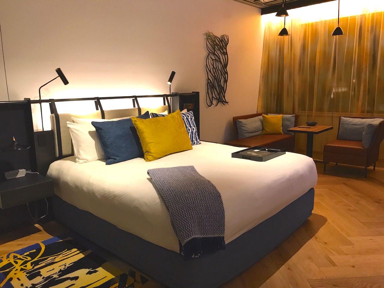 ファッション、アート、デザインと、ビジュアルにこだわったホテル