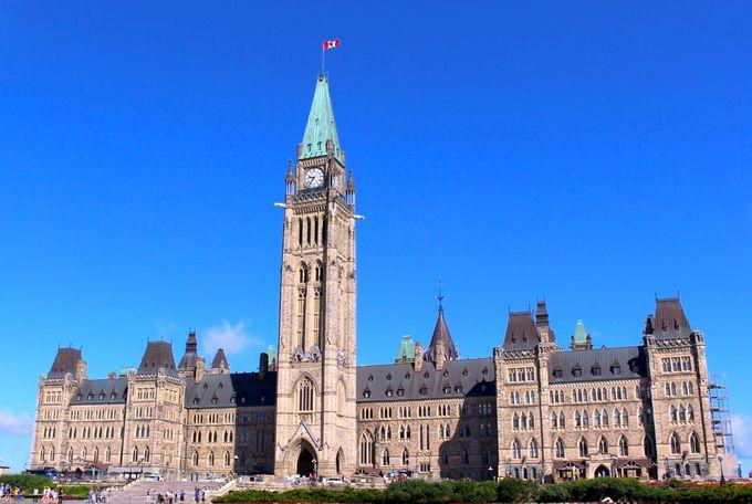 すべて無料!カナダの首都オタワで歴史と世界遺産とハイテクを楽しむ   カナダ   トラベルjp 旅行ガイド