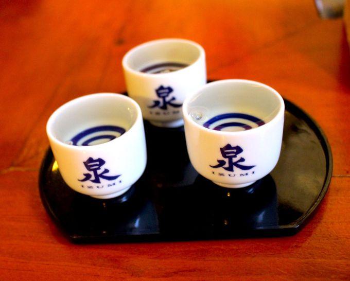 かつてのウィスキー蒸留所で造られる純米酒「泉」