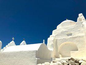 白い世界は昼も夜も面白い!ギリシャ・ミコノス島の歩き方