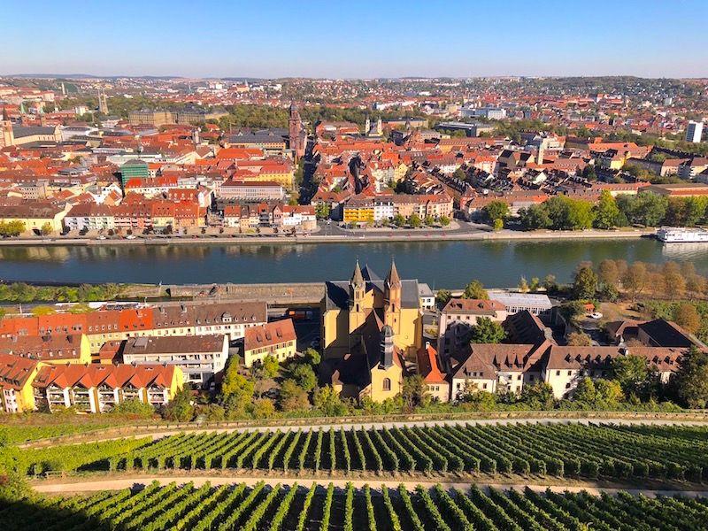 ヴュルツブルクを征する!要塞からのビュー