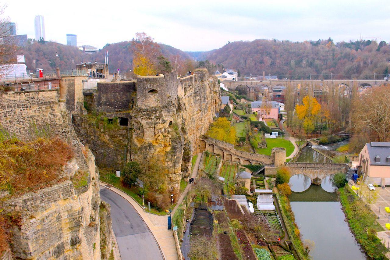 街も要塞もまるっと世界遺産の旧市街