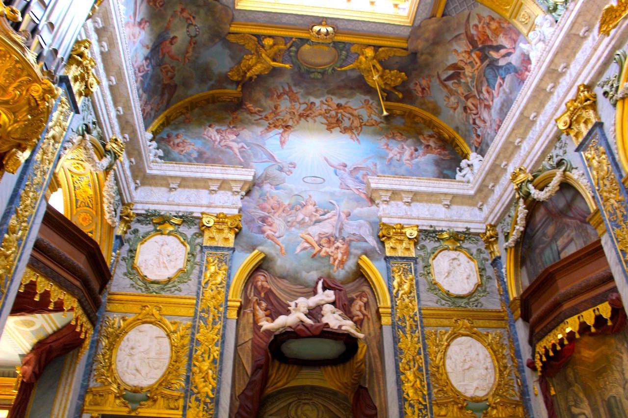 ゴージャスなシャルロッテンブルク宮殿