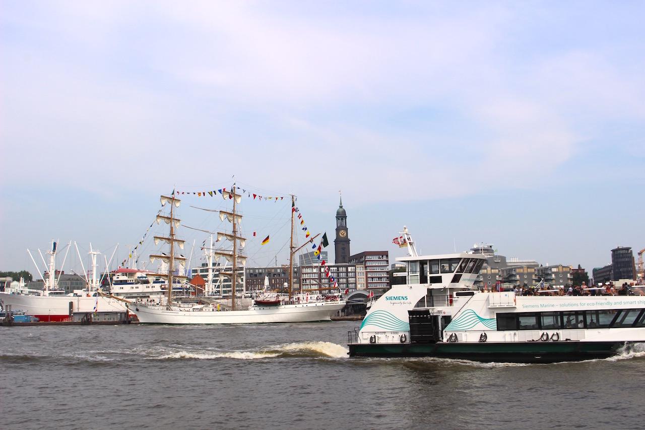 1.ハンブルク港