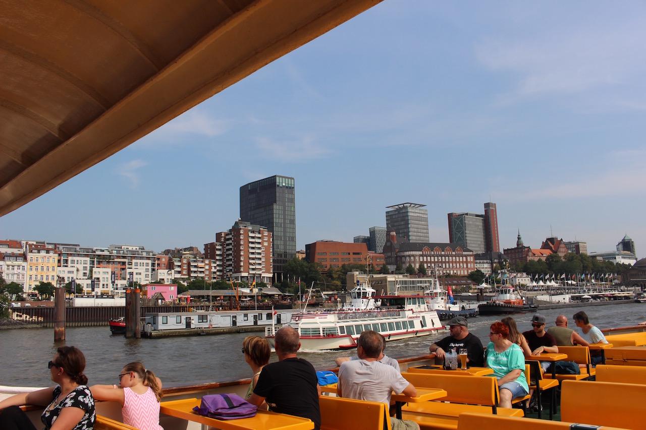 街を見るために船に乗ろう!