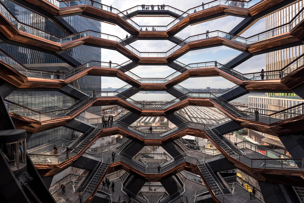 NYの未来都市!「ハドソンヤード」の見どころと美食体験