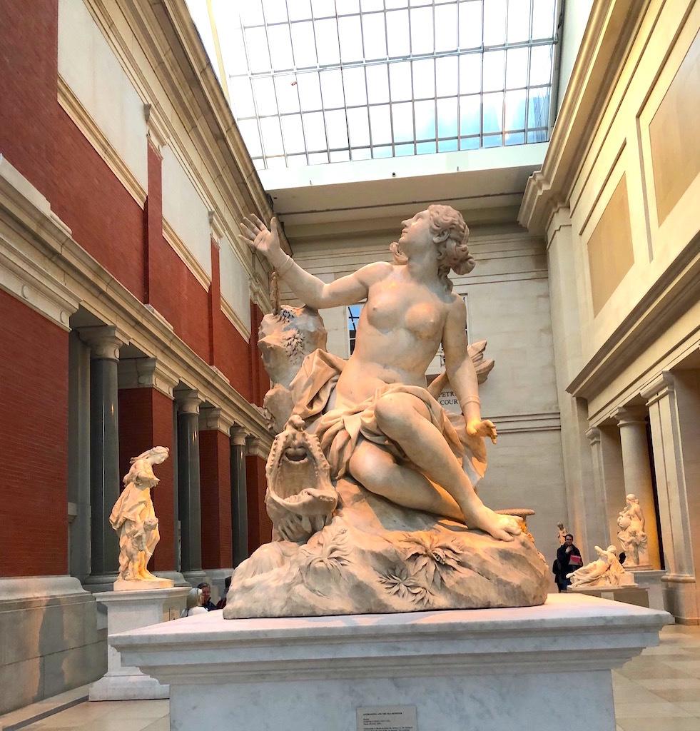 アメリカ最大の美術館を早回りで見学