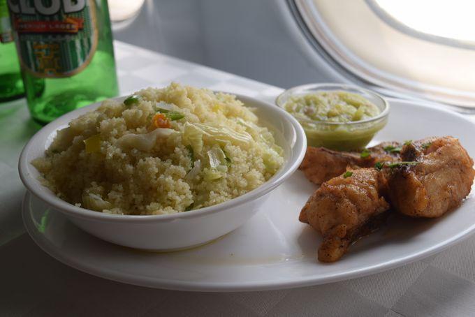 ガーナ料理の数々