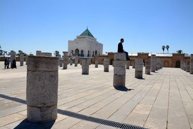 モロッコ独立を牽引した偉大なる王が眠る場所