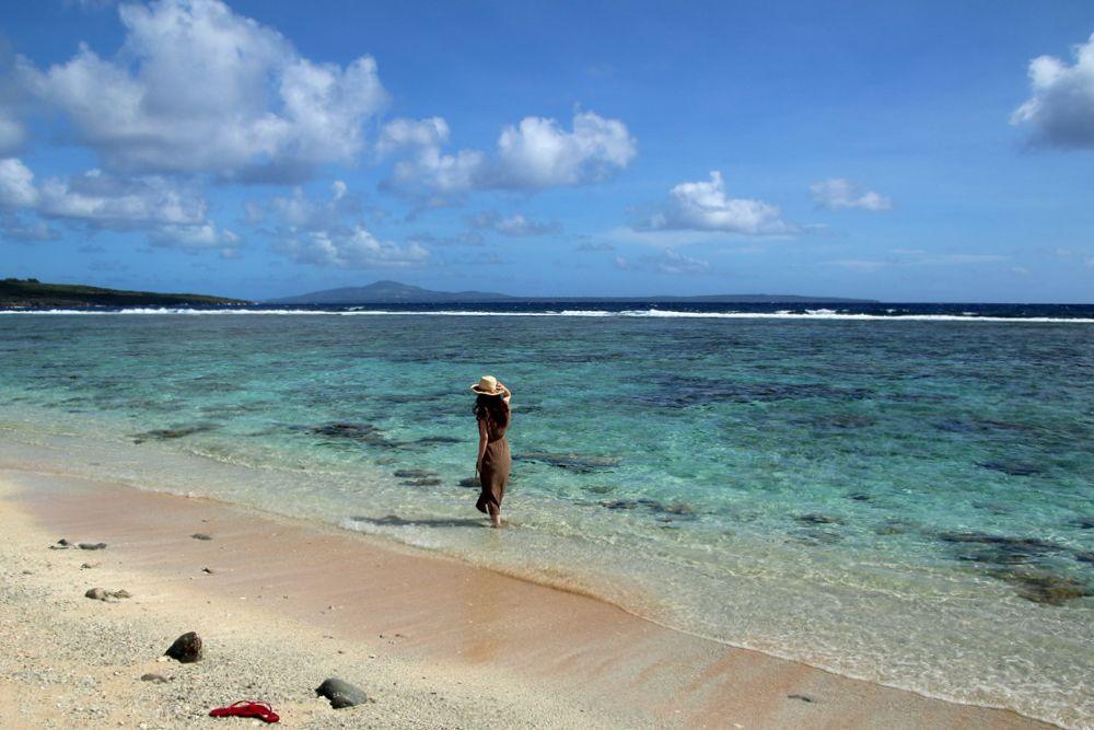 チュルビーチで星の砂を見つけたい