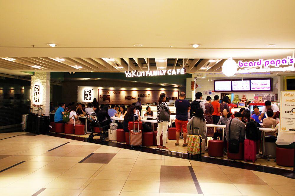 空港に着いたら「ヤ クン」でカヤ トーストを食べよう