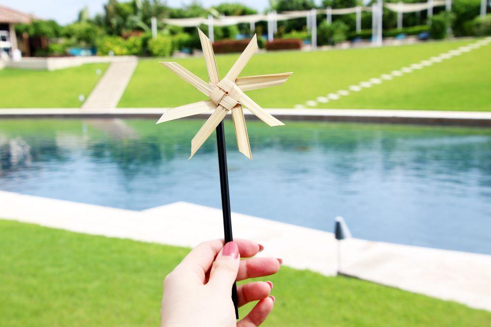 「若返り」の意味を持つマンダラー(風車)作り