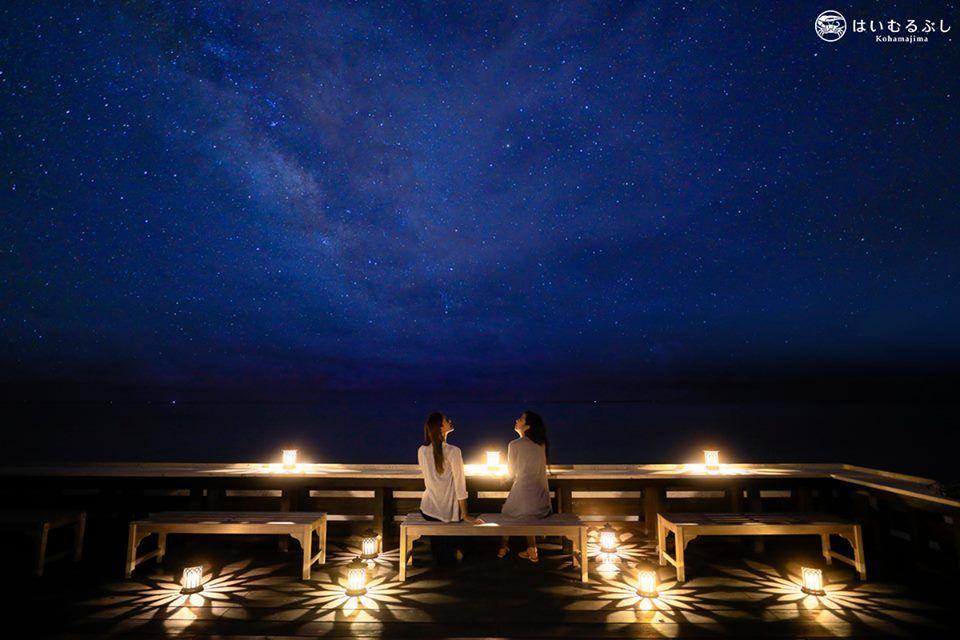 幻想的な空間にうっとり…「星空Cafe」