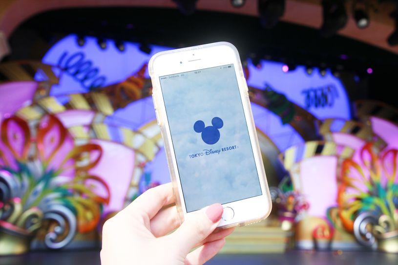 東京ディズニーリゾート・アプリでショーの抽選を