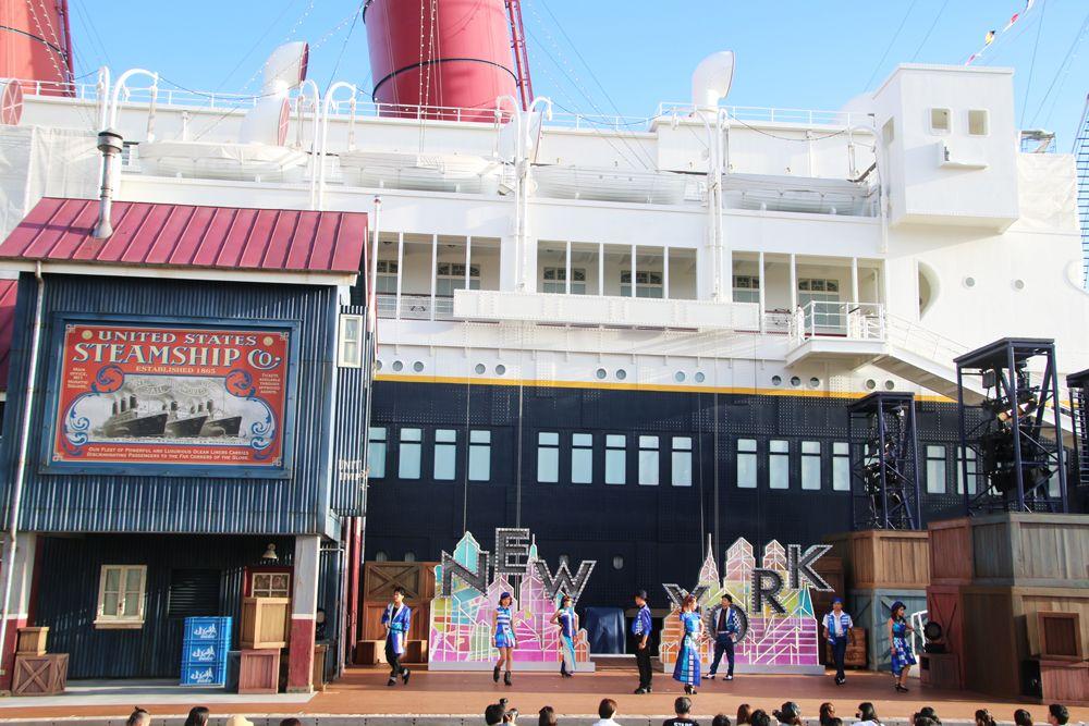東京ディズニーシーの新ショー「ハロー、ニューヨーク!」