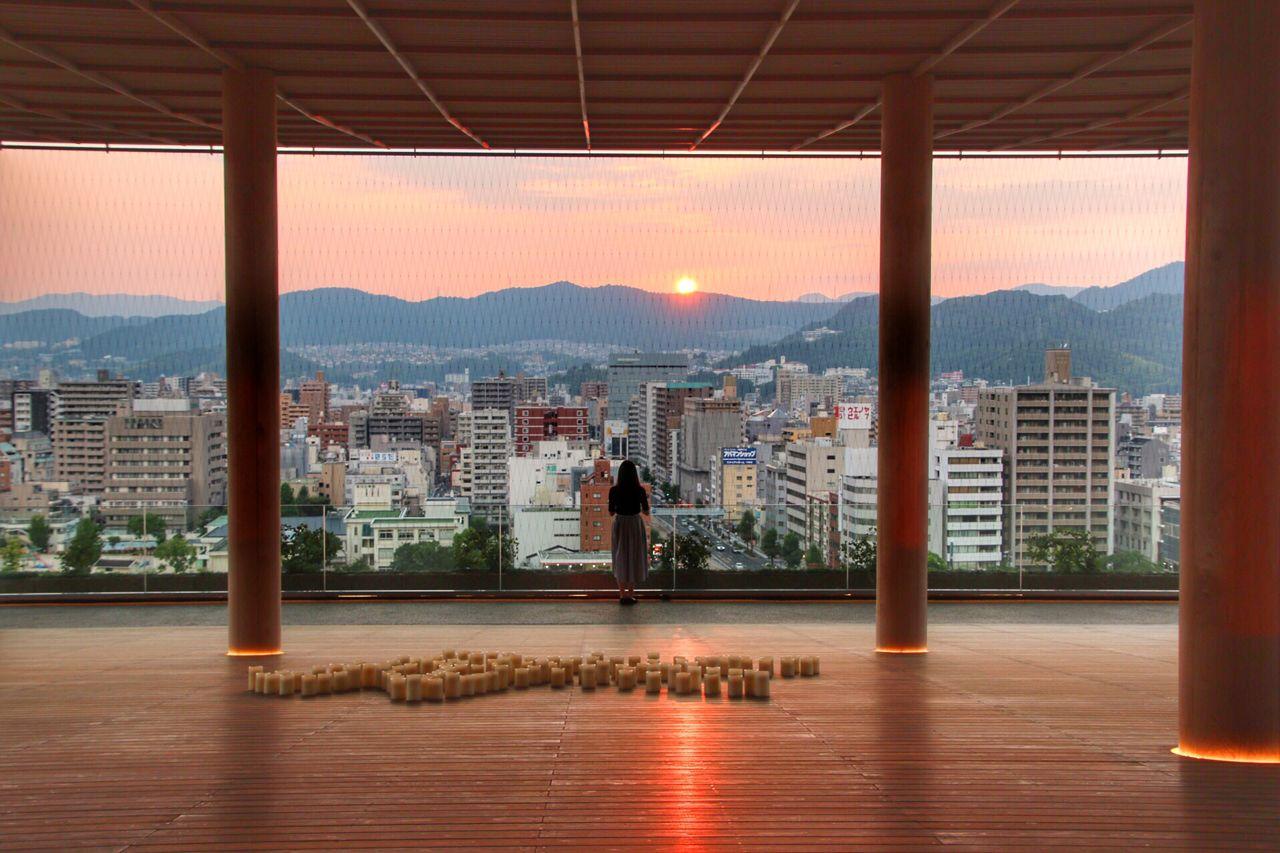 5.広島女子旅で外せない新絶景スポット「おりづるタワー」
