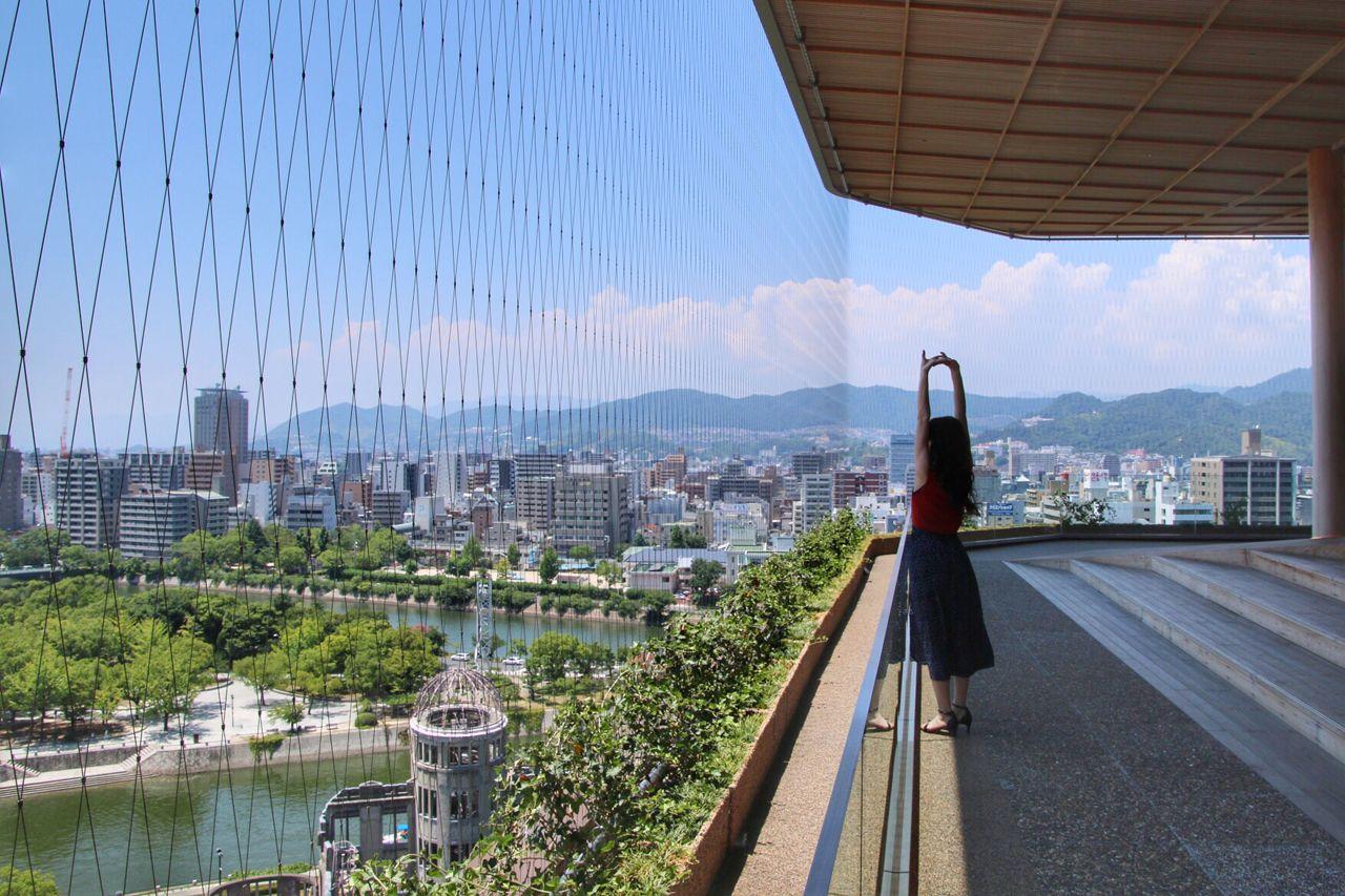 広島観光に外せない新名所「おりづるタワー」