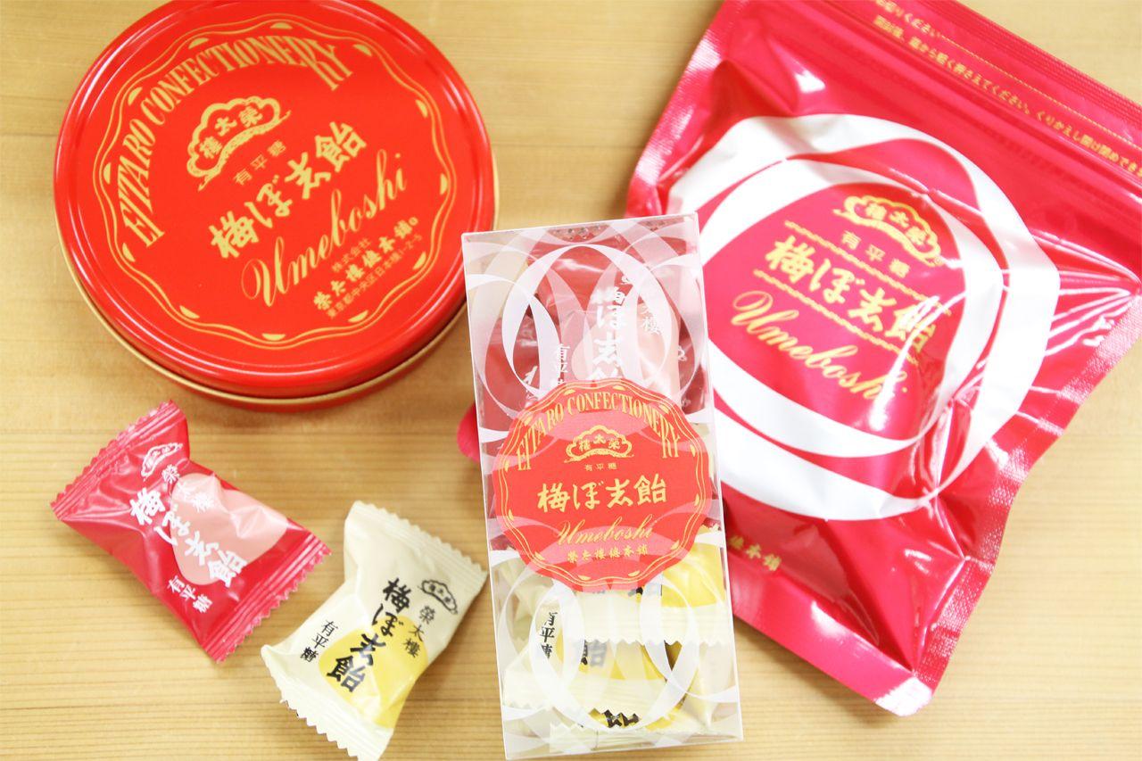 変わらない人気のお土産。榮太樓飴「梅ぼ志飴」
