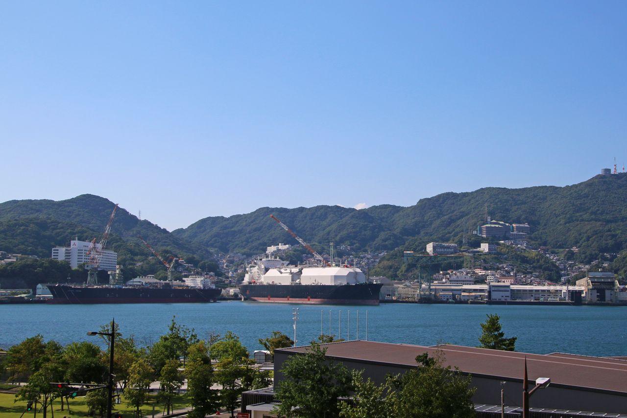 1日目昼:長崎中心地でちゃんぽんを食べる