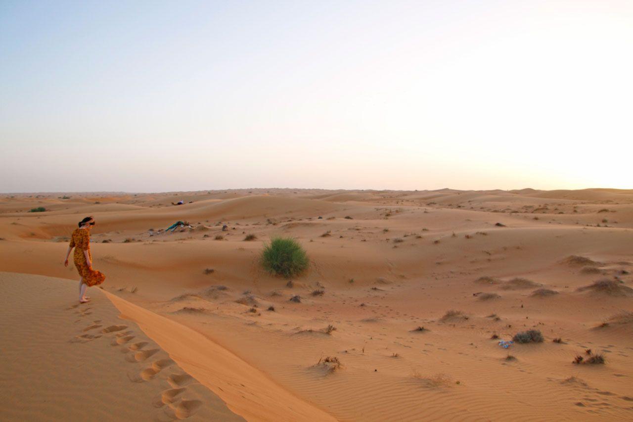 2日目 ドバイならではのホテル滞在&砂漠ツアーへ