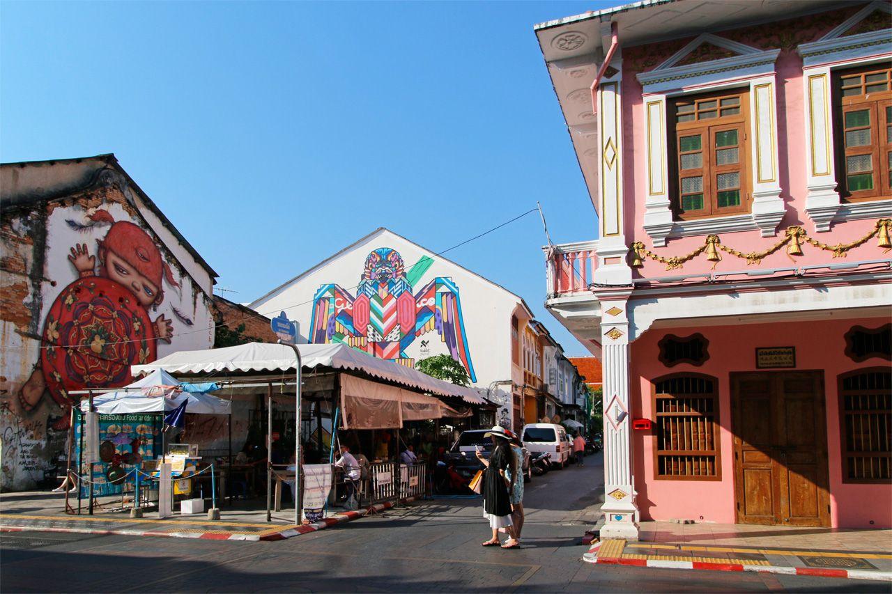 タイ・プーケットのオールドタウンは女子旅でマスト!