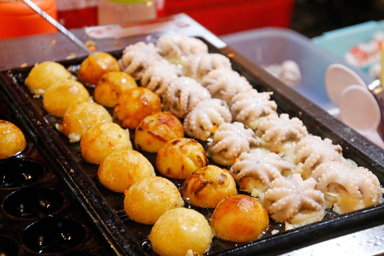 面白い日本食をチェック!プーケット流のたこ焼き