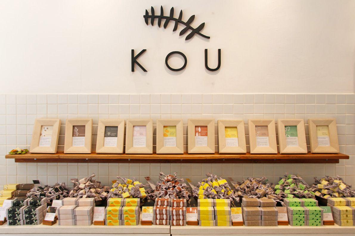 1.ウブドのナチュラルソープ専門店「KOU BALI」