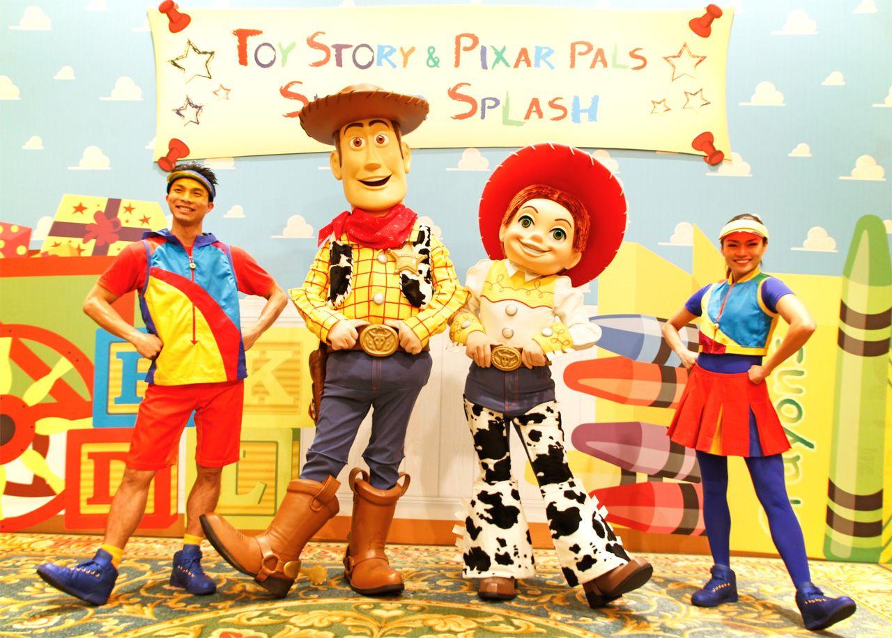 暑い夏はトイ・ストーリーの仲間たちとクールに楽しもう!