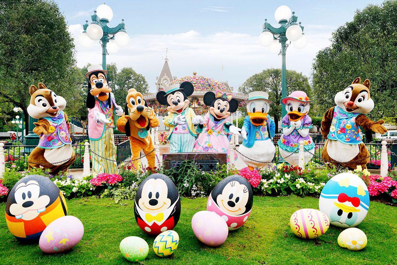 香港ディズニーランドでワクワクする春の訪れをお祝い!