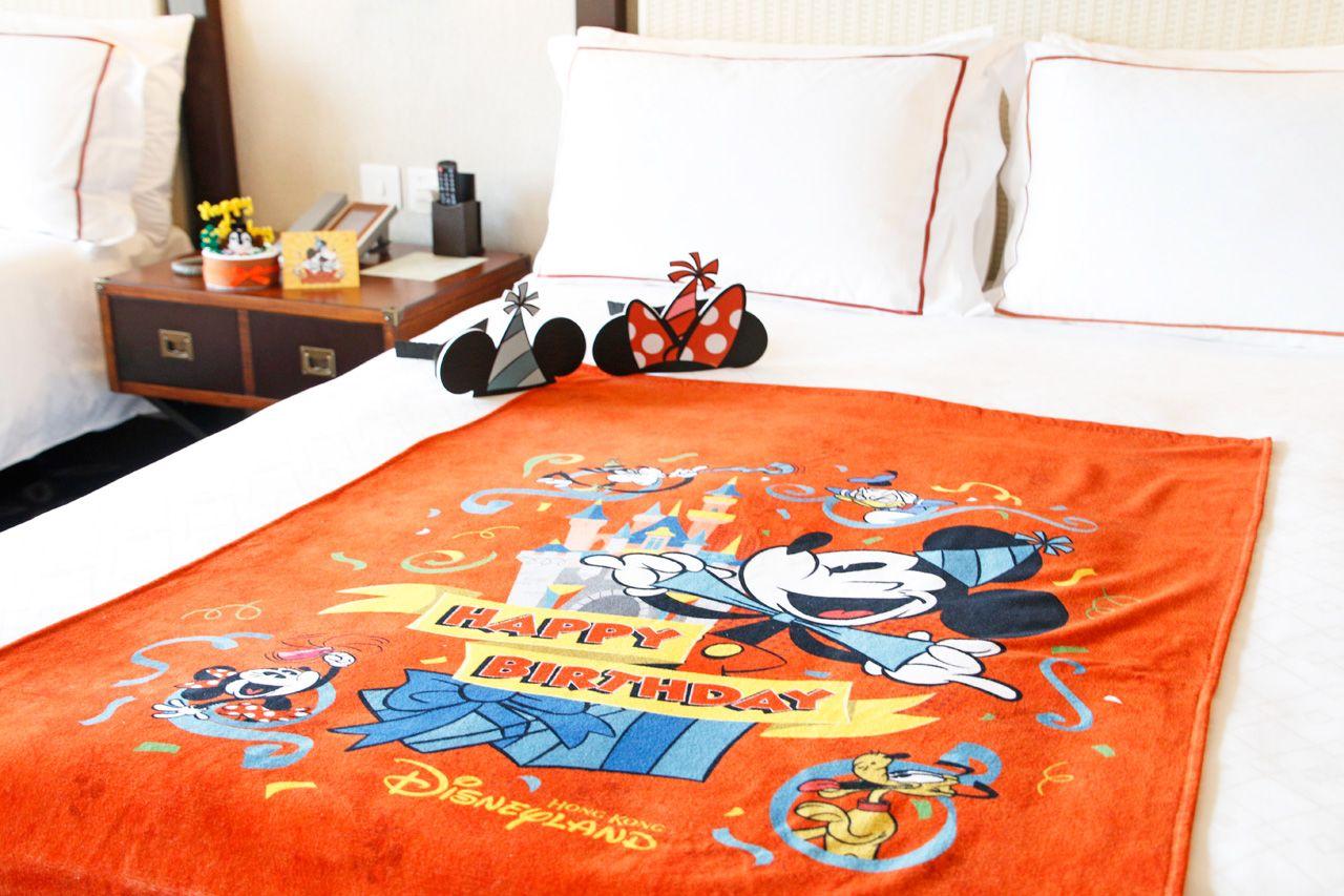 アメニティが可愛すぎる!ディズニーの魔法がかかった客室