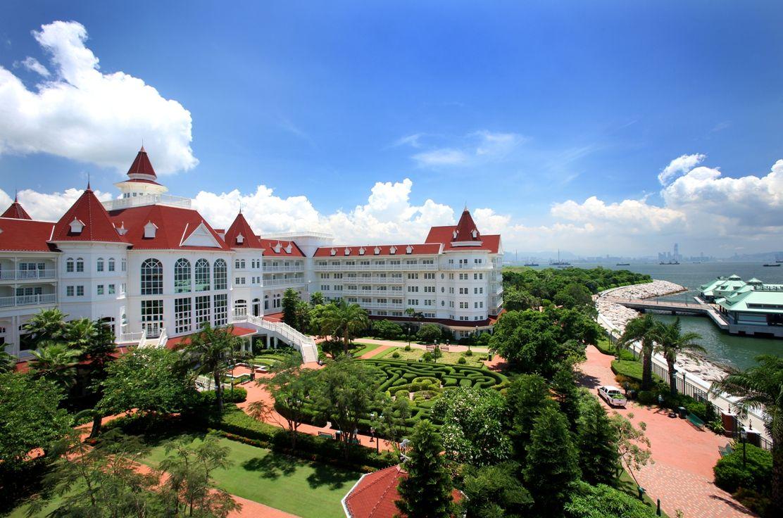 高級感あふれる優雅な「香港ディズニーランド・ホテル」