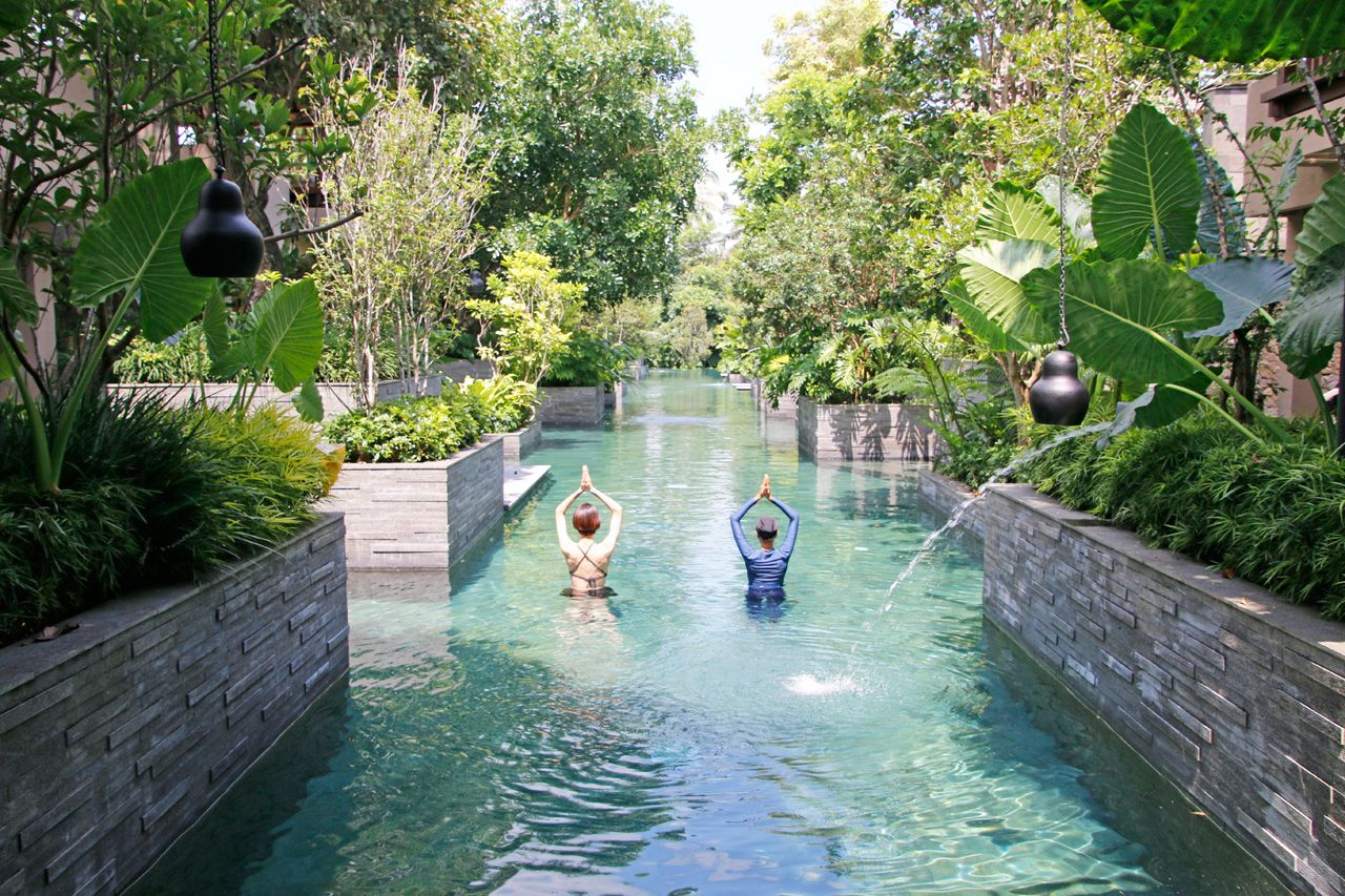 バリ島の特別なヨガを体験。ウブドの大自然でヨガ三昧