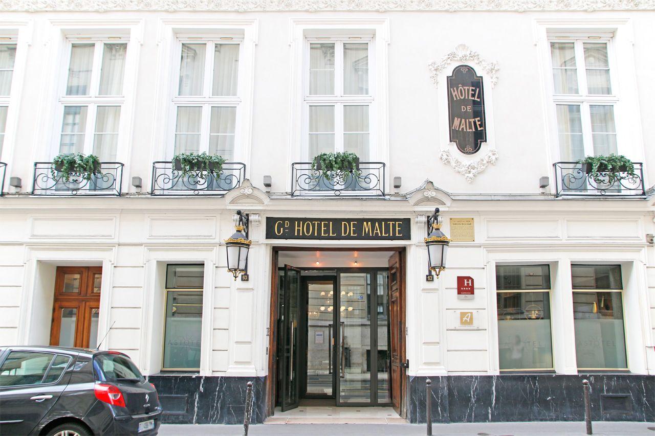 パリ「ホテル マルト・アストテル」観光に便利でお洒落なプチホテル