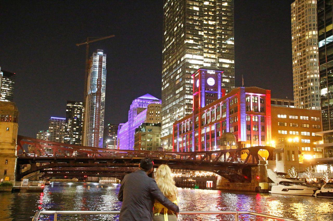 4.シカゴ川を見ながら。City Winery Chicago Riverwalk
