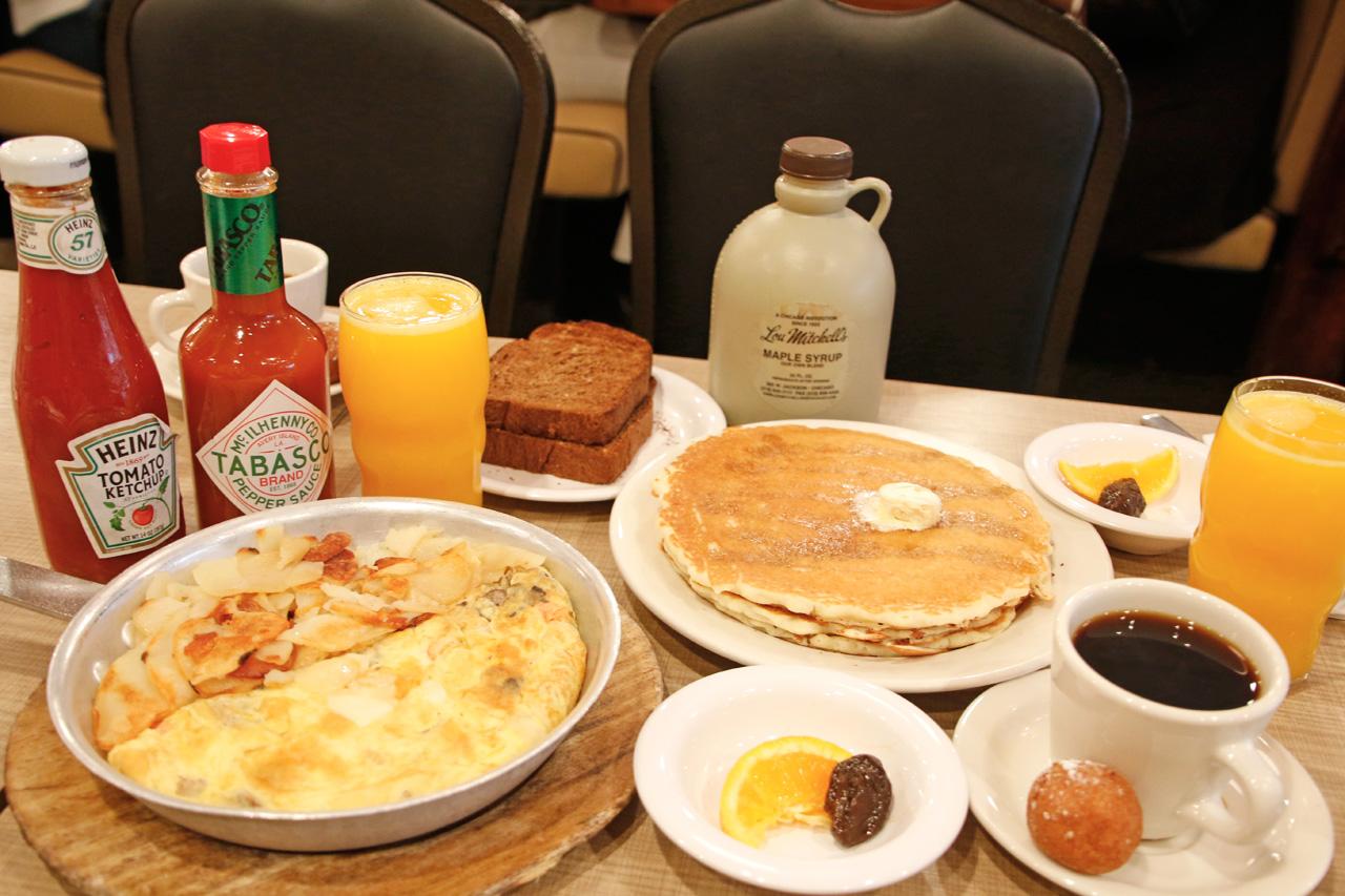 美味しい朝食で、幸せなシカゴの一日をスタート!
