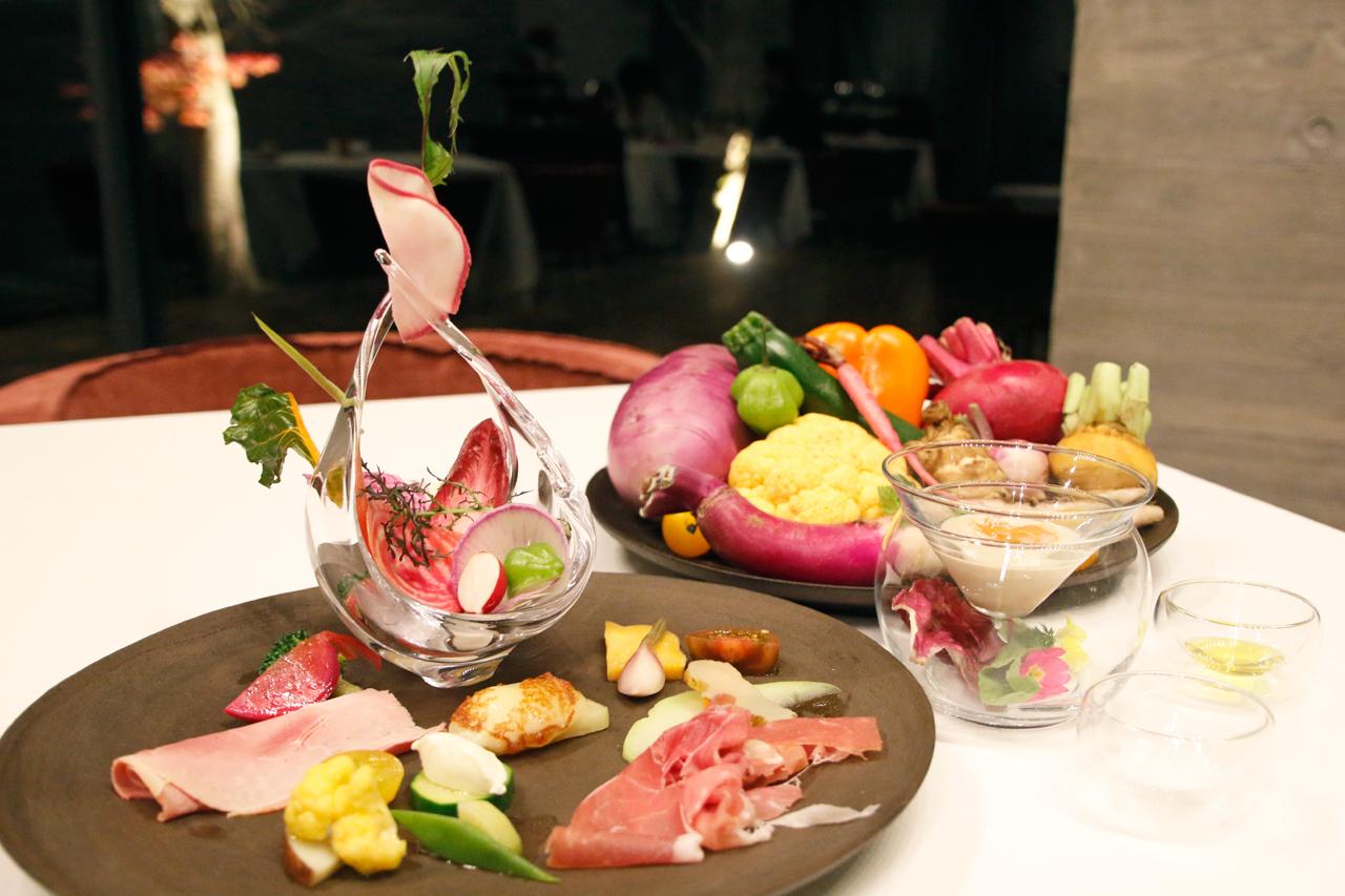 自然の恵みを、いただきます。野菜を楽しむ夕食&朝食