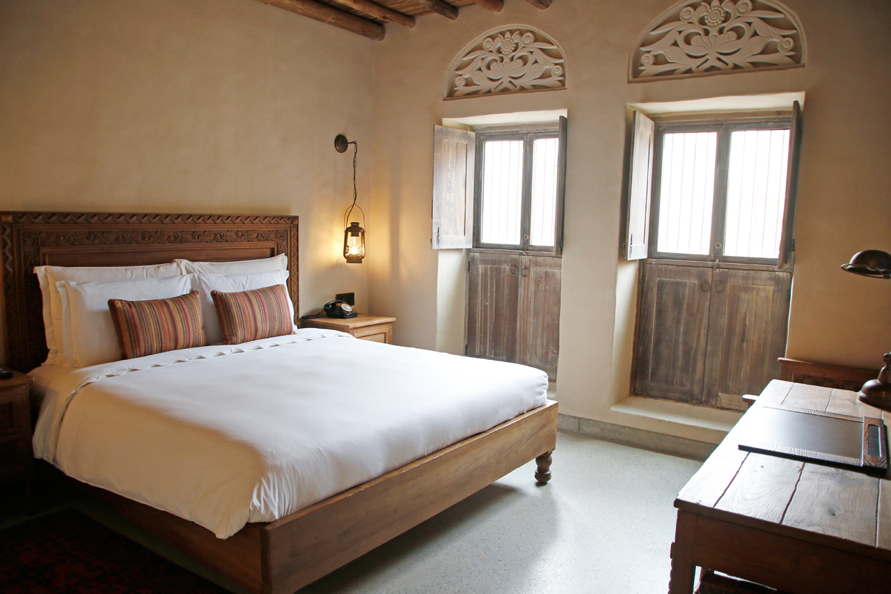 非日常感たっぷり。古きよきアラビアンな客室