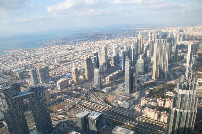 世界一のビルからの眺め!展望台「アット・ザ・トップ」
