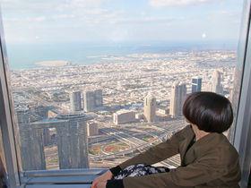 世界一高いビルにのぼろう!ドバイ「バージュ・カリファ」