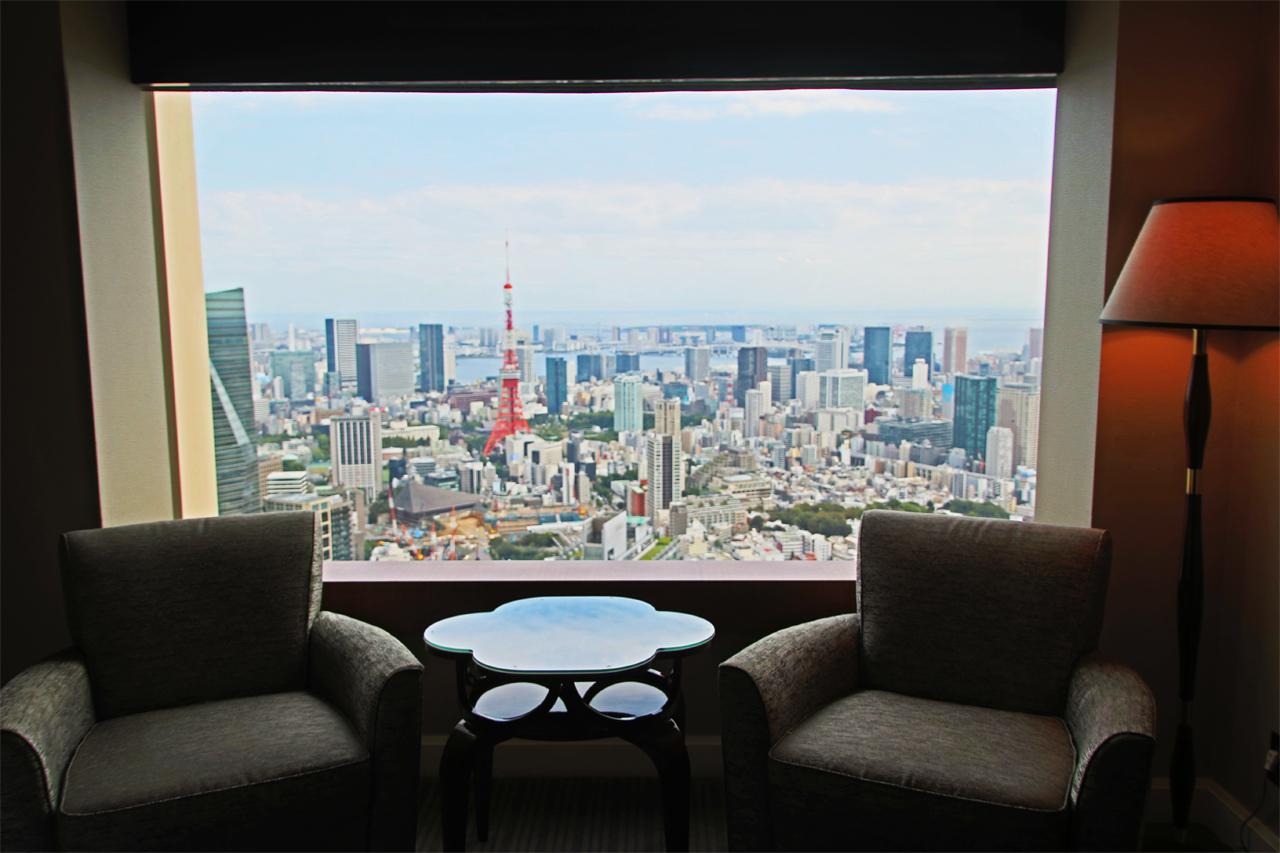 東京タワーが見えるお部屋は?客室の違い