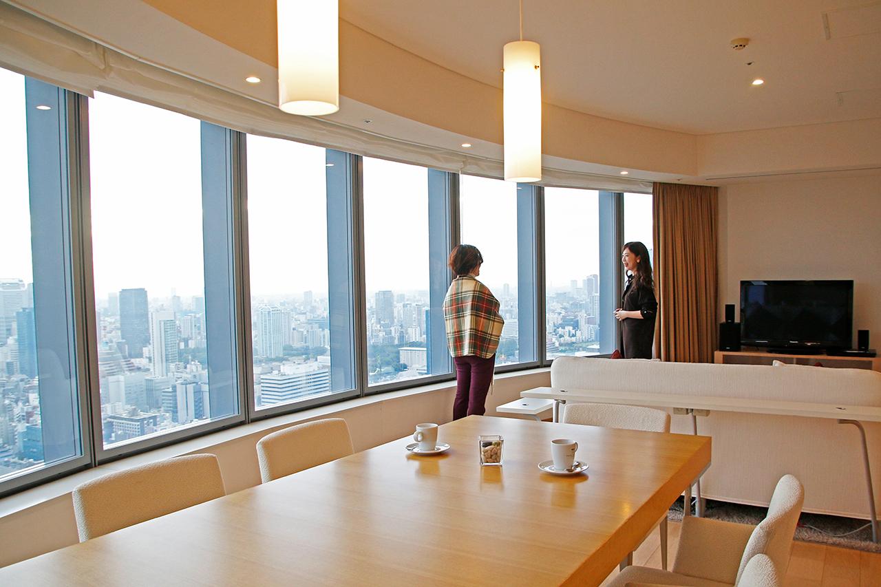パークホテル東京で幸せ女子旅!アート&スパを楽しんで